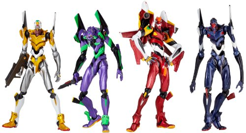 Image 1 for Evangelion Shin Gekijouban - EVA-01 - Revoltech - Metallic Color (Kaiyodo)