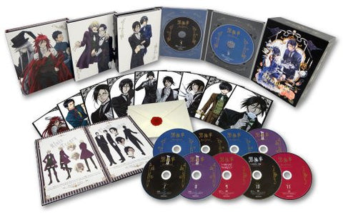 Image for Kuroshitsuji Blu-ray Disc Box [Blu-ray+CD Limited Edition]