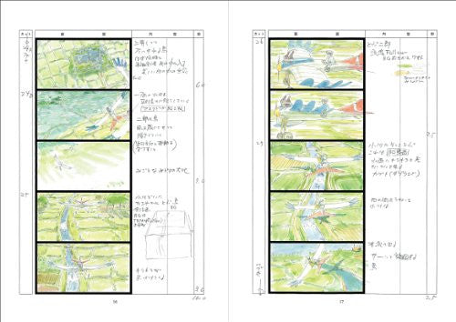 Image 2 for Kaze Tachinu / The Wind Rises   Storyboard / Conte Book