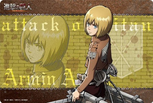Image 1 for Shingeki no Kyojin - Armin Arlert - Mousepad - Large Format Mousepad (Broccoli)