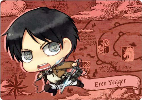 Image 1 for Shingeki no Kyojin - Eren Yeager - Mousepad - Chimi (Gift)