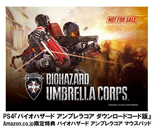 Image 12 for Biohazard Umbrella Corps - Limited Edition (incl. Download Code, Booklet, OST & Mousepad)