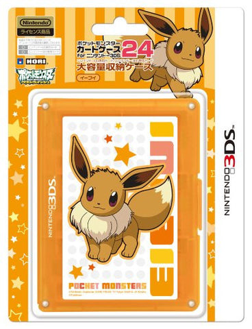 Image for Pokemon Card Case 24 for 3DS (Eievui Version)