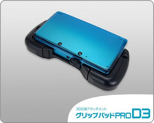 Image 3 for Grip Pad Pro D3 for Nintendo 3DS (Black)