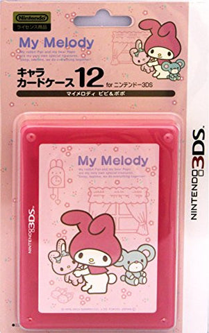 Image for 3DS Character Card Case 12 (My Melody Pipi & Popo)