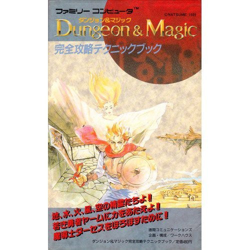 Image 1 for Dungeon & Magic Complete Capture Technique Book / Nes