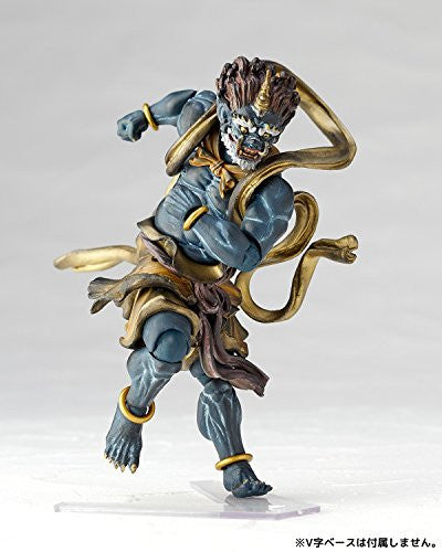 Image 6 for Original Character - KT Project KT-016 - Revoltech - Fuujin - Blue (Kaiyodo)
