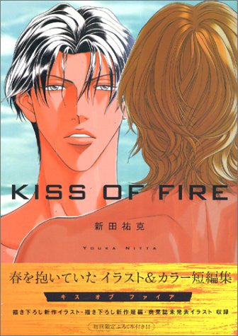 "Image 1 for Haru Wo Daiteita ""Kiss Of Fire"" Illustration & Color Art Book / Youka Nitta"
