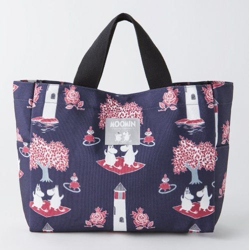 Image 2 for Moomin Official Fan Book 2013 2014 Style 1 Tote W/Tote Bag