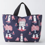 Thumbnail 2 for Moomin Official Fan Book 2013 2014 Style 1 Tote W/Tote Bag