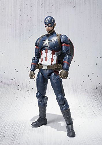 Image 10 for Captain America: Civil War - Captain America - S.H.Figuarts (Bandai)