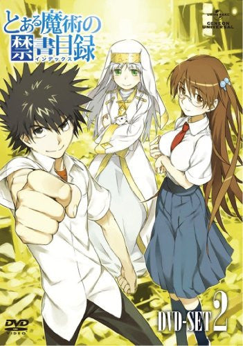 Image 2 for To Aru Majutsu No Index Dvd Set 2
