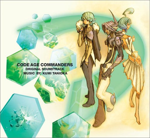 Image for CODE AGE COMMANDERS ORIGINAL SOUNDTRACK