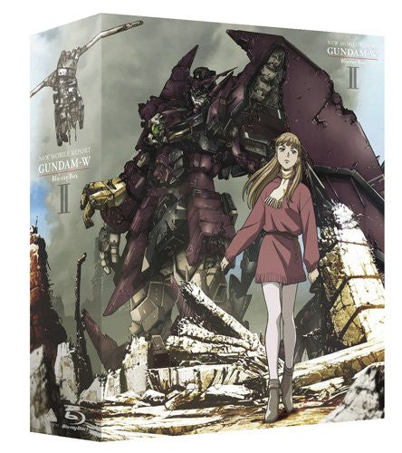 Image 2 for Mobile Suit Gundam Wing Blu-ray Box Vol.2 [Blu-ray+CD Limited Pressing]