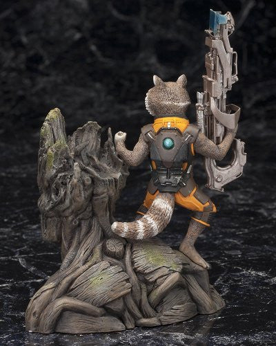 Image 3 for Guardians of the Galaxy - Groot - Rocket Raccoon - ARTFX+ - Guardians of the Galaxy ARTFX+ - 1/10 (Kotobukiya)