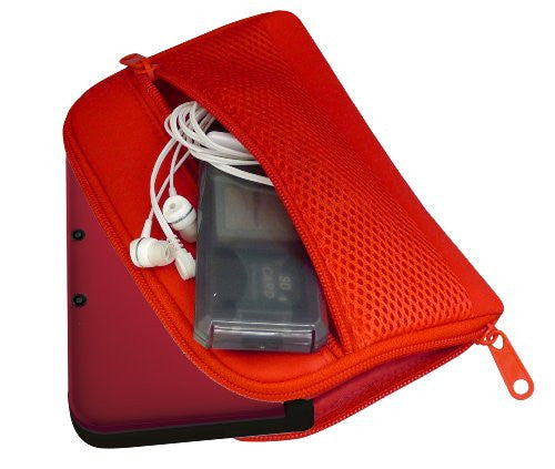 Image 3 for 3D Mesh Cover for 3DS LL (Passion Red)