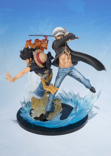 Image 5 for One Piece - Monkey D. Luffy - Trafalgar Law - Figuarts ZERO - -5th Anniversary Edition- (Bandai)