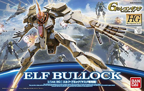 Image 5 for Gundam Reconguista in G - Elf Bullock - HGRC - 1/144 - Mask custom (Bandai)