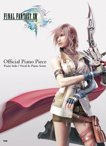 Image for Final Fantasy Xiii Ps3 Game Official Piano Piece