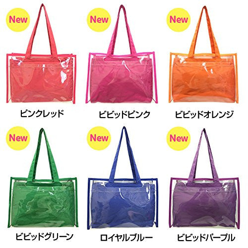 Image 2 for Ita Bag - Clear Tote Bag - Candy Pink