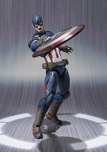 Image 6 for Avengers: Age of Ultron - Captain America - S.H.Figuarts (Bandai)