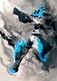 Thumbnail 7 for Black ★ Rock Shooter - Figma #SP-040 - Black ★ Rock Shooter Beast (Good Smile Company, Max Factory)