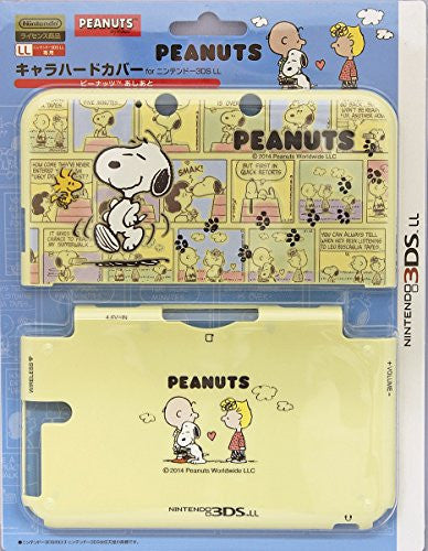 Image 1 for 3DS LL Character Hard Cover (Peanuts Ashiato)