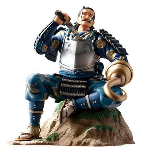 Image 1 for One Piece - Sir Crocodile - Door Painting Collection Figure - 1/7 - Samurai ver. (Plex)