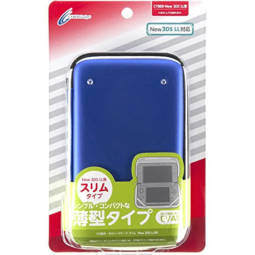 Image 1 for Semi Hard Case Slim for New 3DS LL (Navy)