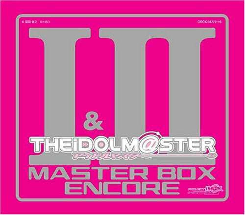 Image 1 for THE iDOLM@STER MASTER BOX I & II ENCORE