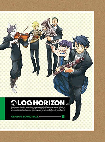 Image 1 for LOG HORIZON ORIGINAL SOUNDTRACK 1