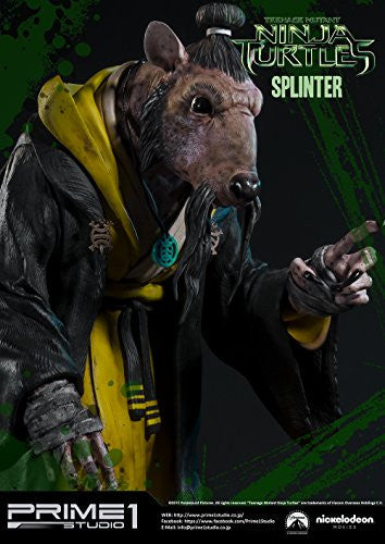 Image 8 for Teenage Mutant Ninja Turtles (2014) - Splinter - Museum Masterline Series MMTMNT-05 - 1/4 (Prime 1 Studio)