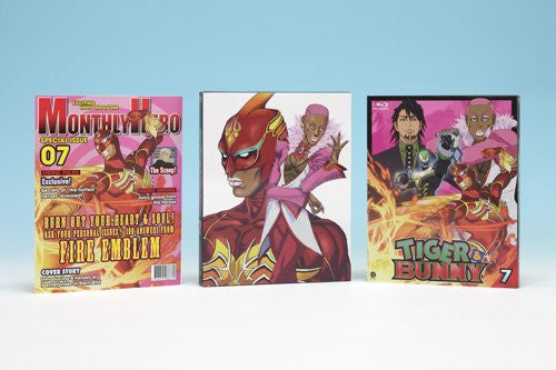 Image 2 for Tiger & Bunny 7 [Blu-ray+CD Limited Edition]