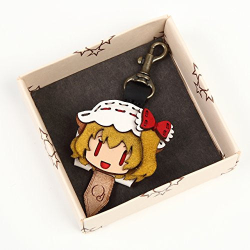 Image 2 for Touhou Project - Flandre Scarlet - Hand Made Leather Key Cap