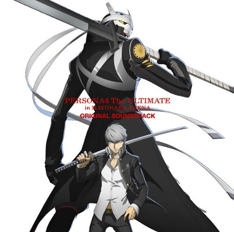 Image for PERSONA4 The ULTIMATE in MAYONAKA ARENA ORIGINAL SOUNDTRACK