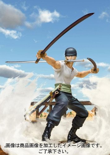 Image 12 for One Piece - Roronoa Zoro - Figuarts ZERO - Battle ver. (Bandai)