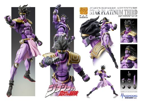 Image 6 for Jojo no Kimyou na Bouken - Stardust Crusaders - Star Platinum - Super Action Statue #55 - Third Ver. (Medicos Entertainment)