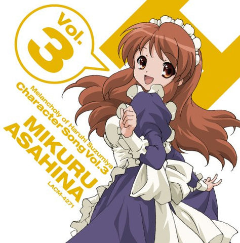 Image for The Melancholy of Haruhi Suzumiya Character Song Vol.3 MIKURU ASAHINA