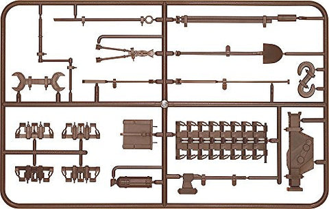 Image for Girls und Panzer - Figma Vehicles - Panzer IV Ausf. D Tank Equipment Set (Brown) - 1/12 (Max Factory)