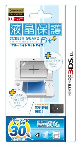 Image 1 for Screen Guard Fit for 3DS LL (Blue Light Cut Type)
