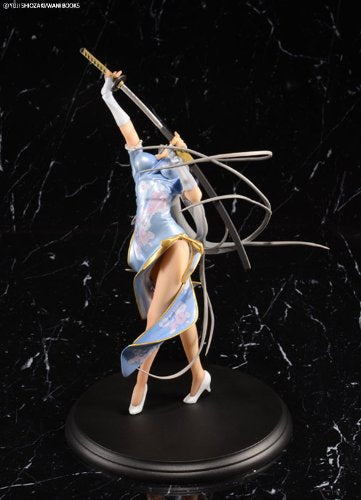 Image 4 for Ikki Tousen - Chouun Shiryuu - 1/7 - China Dragon Dress Blue ver. (BEAT)