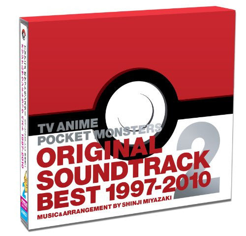 Image 5 for TV ANIME POCKET MONSTERS ORIGINAL SOUNDTRACK BEST 1997-2010 2