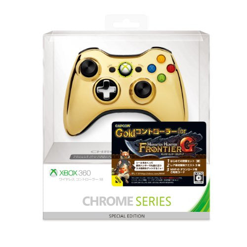 Image 1 for Xbox 360 Wireless Controller SE (Chrome Gold)