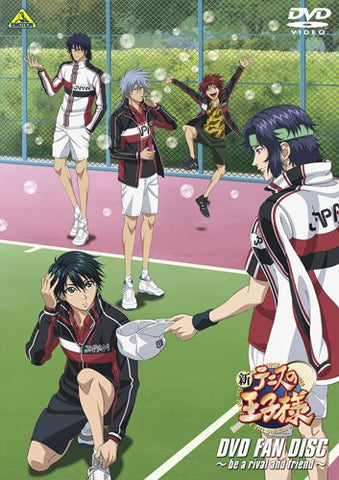 Image for New Prince Of Tennis Dvd Fan Disc - Be A Rival And Friend