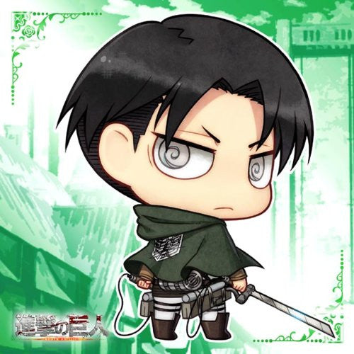Image 1 for Shingeki no Kyojin - Levi - Towel - Mini Towel - Chimi (ACG)