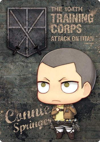 Image 1 for Shingeki no Kyojin - Connie Springer - Mousepad - Chimi, Salute ver. (Gift)