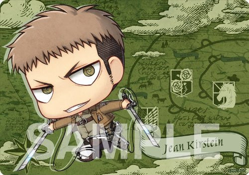 Image 2 for Shingeki no Kyojin - Jean Kirstein - Mousepad - Chimi (Gift)