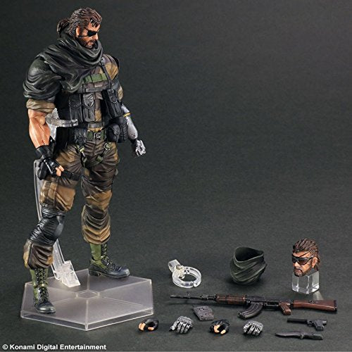 Image 6 for Metal Gear Solid V: The Phantom Pain - Naked Snake - Play Arts Kai - Splitter ver. (Square Enix)