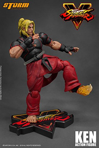Image 5 for Street Fighter V - Ken Masters - 1/12 (Storm Collectibles)