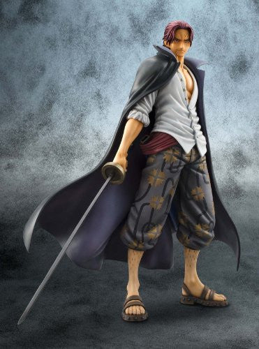 Image 3 for One Piece - Red-Haired Shanks - Excellent Model - Portrait Of Pirates DX - 1/8 - Marineford ver. (MegaHouse)